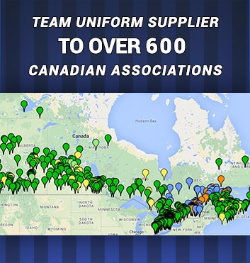 Team uniform supplier to over 600 Canadian associations
