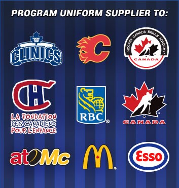 Program uniform supplier to many community-friendly organizations.