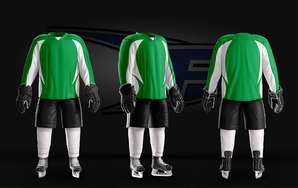 Core Jersey Green White