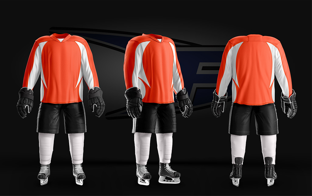 Core Jersey Orange/White